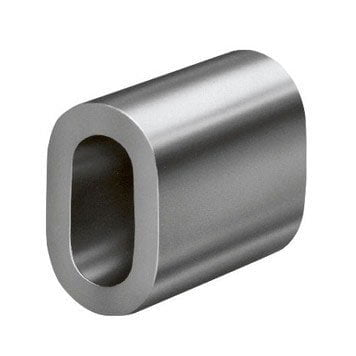 Aluminum clip for wire rope