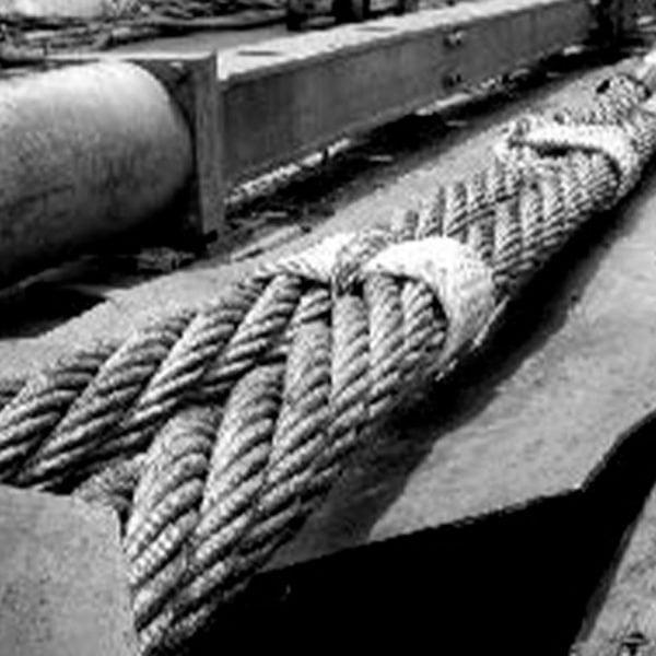 Lingas de Cabo de Aço Cable Laid Grommets