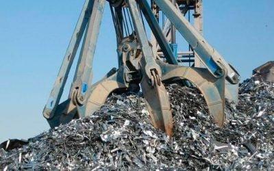 Grab for iron scrap