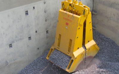 Grab para minério de ferro